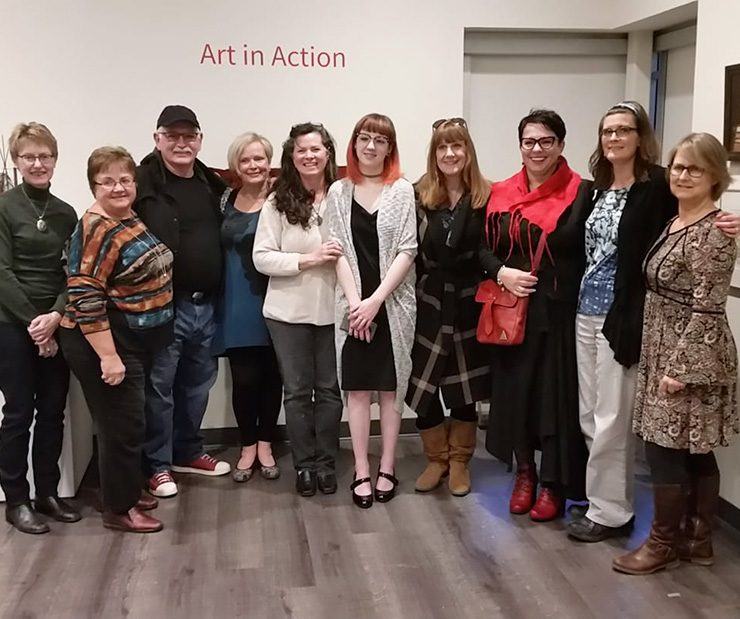2018 Exhibit at the Art Gallery of Burlington
