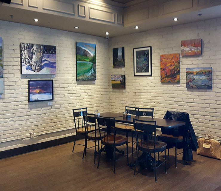 2018 Exhibit at Williams Fresh Cafe