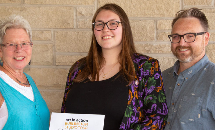 Anna Golding is the 2019 Art in Action Scholarship Winner
